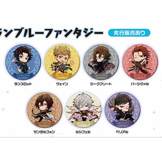 Granblue Fantasy Fortune Can Badge Chu Series96