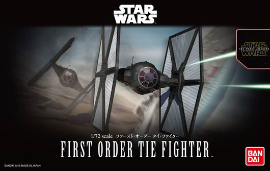 Star Wars The Force Awakens First Order TIE Fighter