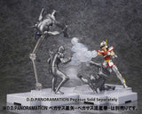 D.D.PANORAMATION Saint Seiya Golden Zodiac Extention Set Fire Clock of the Sanctuary