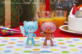 HGPG Gundam Build Fighter Petitgguy Soda Pop Blue & Ice Candy