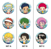 Kuroko's Basketball Capsule Can Badge Collection -Summer Time (3 sets available)