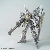 MG Gundam UC - Sinanju (Mechanical Clear) (Gundam Base Limited) (Exclusive)