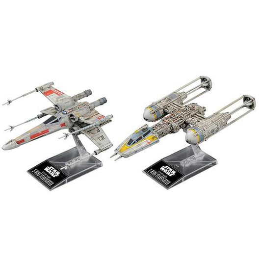 1/144 Star Wars X-Wing Star Fighter & Y-Wing Star Fighter