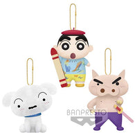 (PO) Crayon Shin-Chan Movie 2020 Crash! Rakuga Kingdom and Almost Four Heroes Plush set (3)