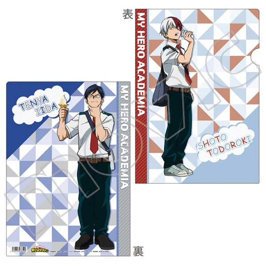 My Hero Academia Clear File - Todoroki and Iida