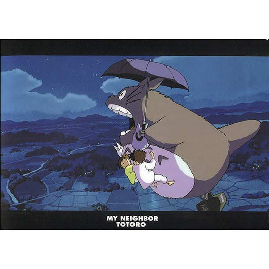 My Neighbor Totoro A4 Clear File - Walk in the night sky