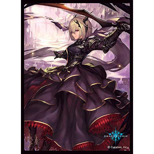 Chara Sleeve Collection Matt Series Shadowverse - Melissa Dark Saber No. MT721