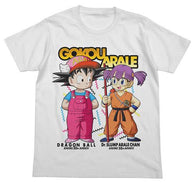 Dragonball x Dr.Slump Son Goku and Arale Full Colour T-Shirt