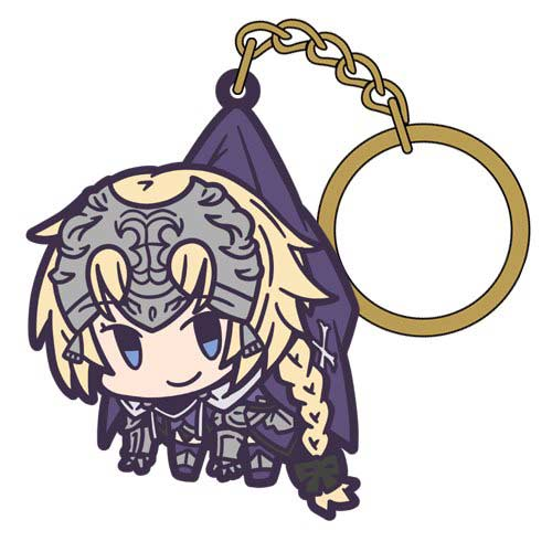 Fate/Grand Order Tsumamare Key Chain - Ruler/Jeanne d`Arc