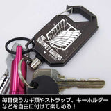 (PO) Attack on Titan Survey Corps Reel Key Ring (7)