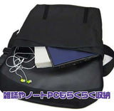 (PO) MS Gundam Zeon Embroidery Patch Messenger Bag (9)