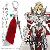 (PO) Fate/Apocrypha Saber of Red Image Accessory Key Ring (6)
