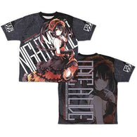Date A Live Kurumi Tokisaki Original Double Sided Full Graphic T-shirt