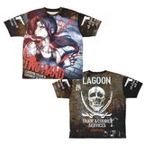 (PO) Black Lagoon Two Hand Revy Double Sided Full Graphic T-shirt (10)