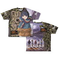 Yurucamp Rin Shima Double Sided Full Graphic T-shirt