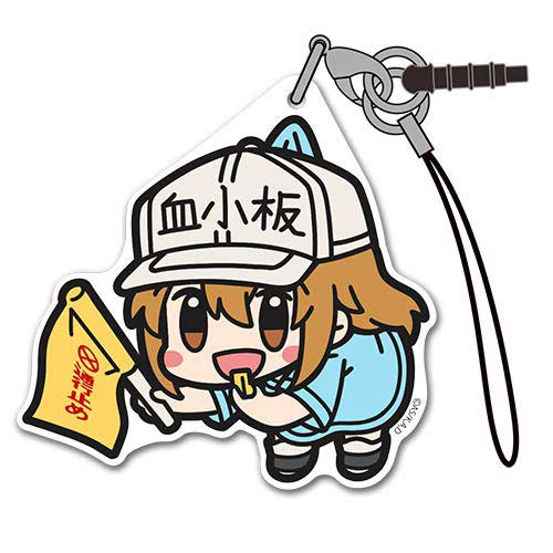 Cells at Work! Acrylic Tsumamare Strap - Platelet