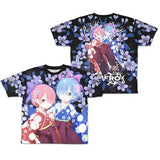 Re:Zero kara Hajimeru Isekai Seikatsu - Double Side Full Print T-Shirt (4)