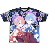 (PO) Re:Zero kara Hajimeru Isekai Seikatsu - Double Side Full Print T-Shirt (4)