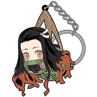 Demon Slayer: Kimetsu no Yaiba Tsumamare Key Chain - Nezuko Kago Ver.