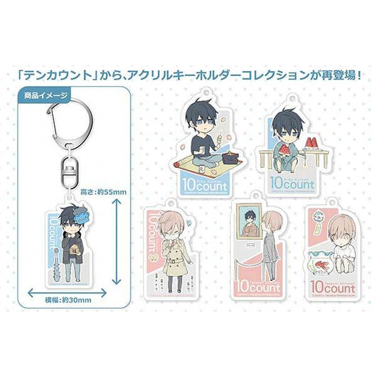 10 Count Acrylic Key Chain Collection (Re-issue)