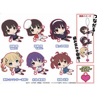 How to Raise a Boring Girlfriend Tsunagarun Trading Rubber Strap