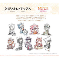 Bungo Stray Dogs Retro Style Acrylic Key Chain Little Cat Riding Hood Ver.