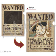 One Piece Wanted Poster Trick File - Monkey D. Luffy