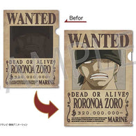 One Piece Wanted Poster Trick File - Roronoa Zoro