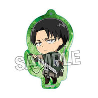 Attack on Titan Ruccolle Acrylic Key Chain Levi