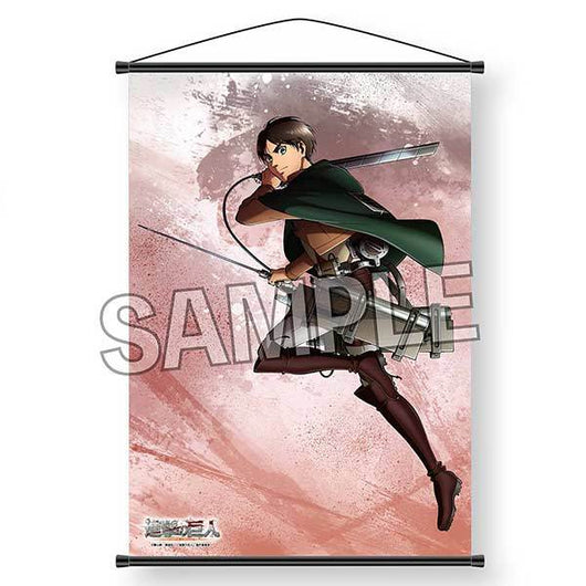 Attack on Titan Original Illustration 2018 B2 Tapestry - Eren