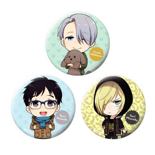 Chara Forme Yuri! on Ice Can Badge Collection B Set