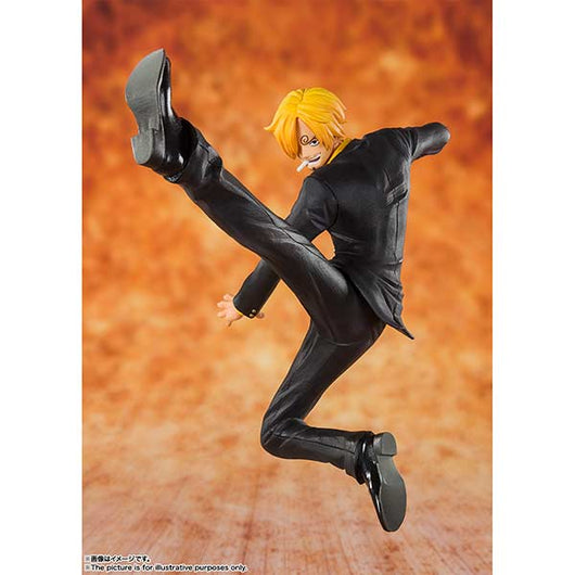 Figuarts Zero One Piece - Black Leg Sanji (9)