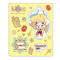 Fate/Grand Order Design produced by Sanrio Stand up! Acrylic Mascot - Gilgamesh (Caster)
