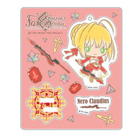 Fate/Grand Order Design produced by Sanrio Stand up! Acrylic Mascot - Nero Claudius