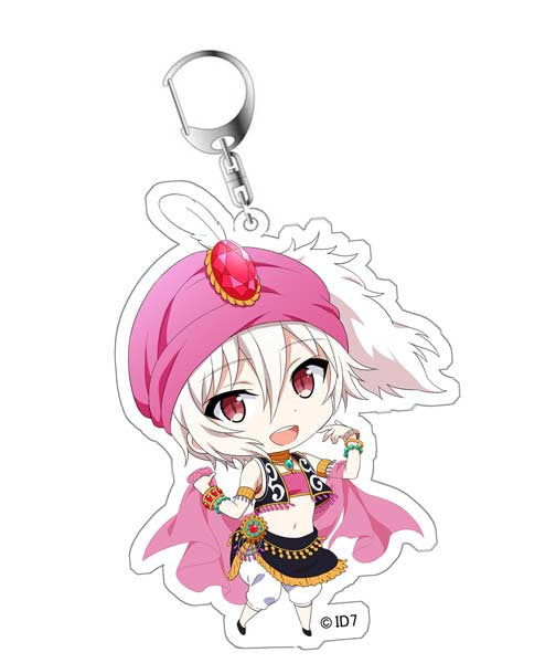 IDOLiSH7 Original Illustration Acrylic Key Chain - Kujo Tenn