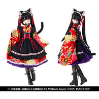(PO) Black Raven Series Lilia Taisho Romantic Black Cat (8)