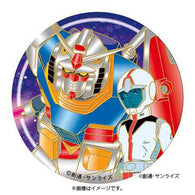 Mobile Suit Gundam Sculpture Metal Magnet 1 Amuro & Gundam (Metallic ver.)