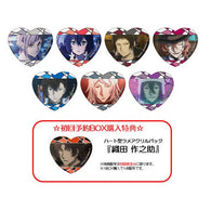 (PO) Bungou Stray Dogs DEAD APPLE Heart Lame Acrylic Badge (2)