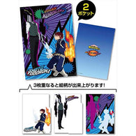 My Hero Academia 2 Pocket Clear File Todoroki VS Kurogiri