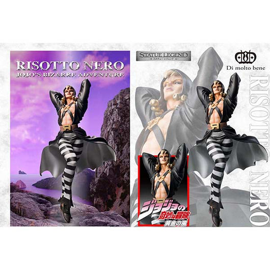 Statue Legend JoJo`s Bizarre Adventure Part V - Risotto Nero (Re-issue) (10)