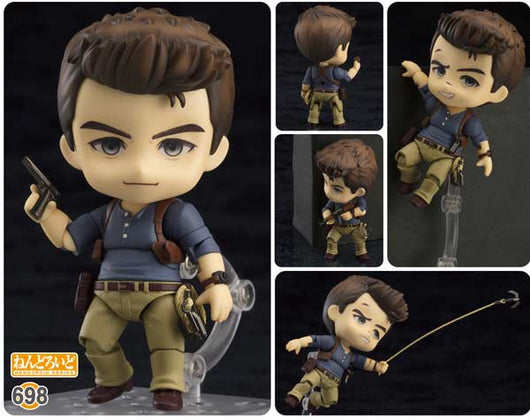 Nendoroid 698 Uncharted 4 A Thiefs End - Nathan Drake Adventure Edition