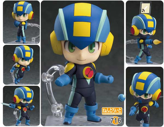 Nendoroid 716 Mega Man Battle Network - Mega Man EXE Super Movable Edition