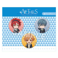 (PO) ACTORS Songs Connection Nendoroid Plus Can Badge Set Second-year Student (1)