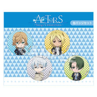 (PO) ACTORS Songs Connection Nendoroid Plus Can Badge Set Third-year Student (1)