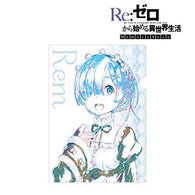 Re:Zero Starting Life in Another World Ani-Art Clear File - Rem