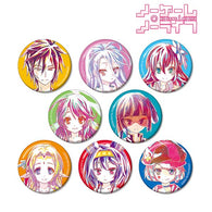 (PO) No Game No Life Trading Ani-Art Can Badge (Re-issue) (5)