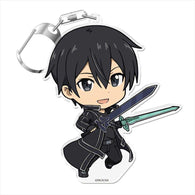 Sword Art Online Puni Colle! Key Chain with Stand - Kirito Aincrad