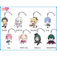 (PO) RE:Zero Starting Life in Another World Petanko Trading Acrylic Strap (Re-issue) [BOX]