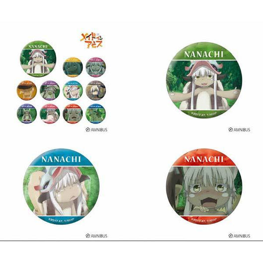 Made in Abyss Trading Nanachi Can Badge