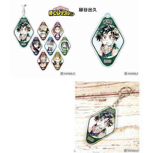 My Hero Academia Trading Ani-Art Acrylic Key Chain